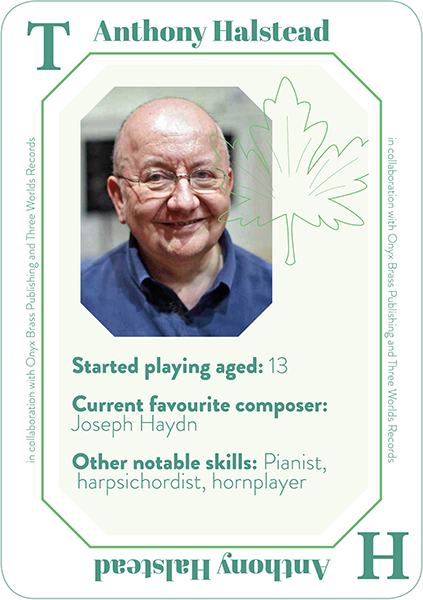 Tony Halstead player card